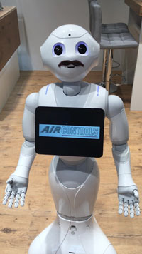 AC Aircontrols - Pepper auf der Medica 2019